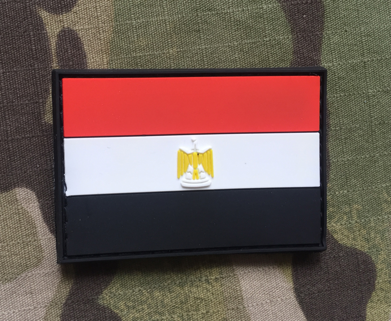 JTG Egypt Flag PVC Patch - nášivka
