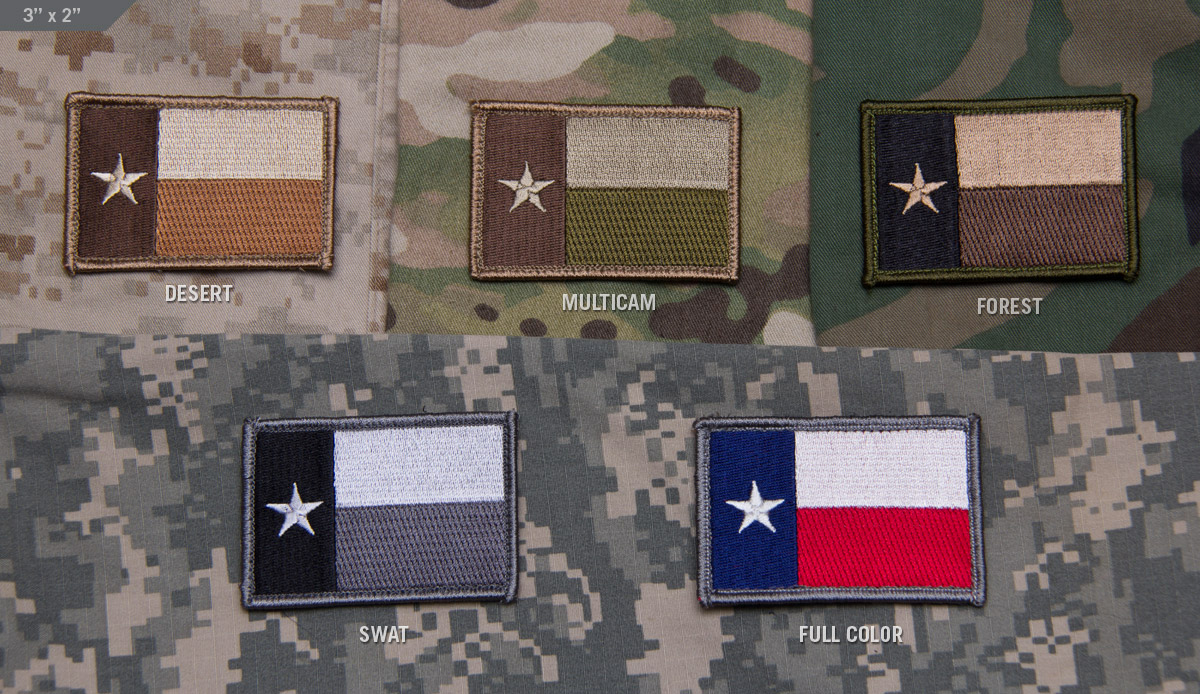 MSM Texas Flag Patch