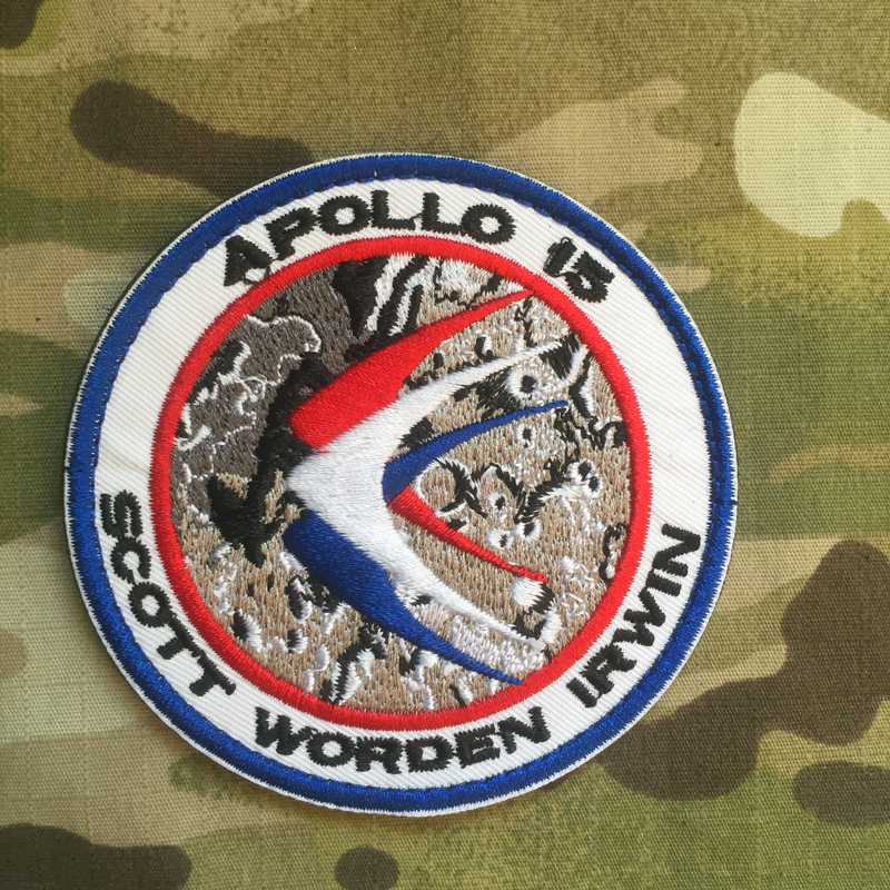 Apollo 15 Patch - nášivka