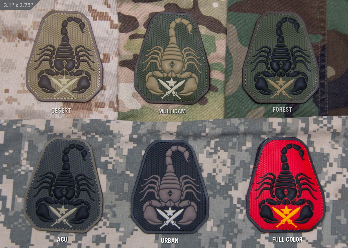 MSM Scorpion Unit PVC Patch