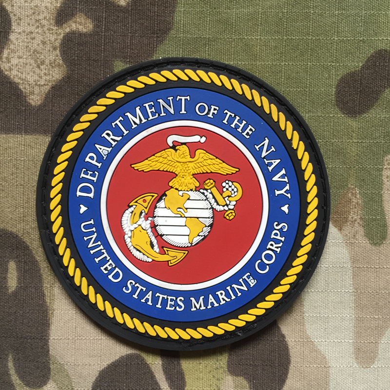 NoName Department of The Navy - USMC PVC Patch - nášivka
