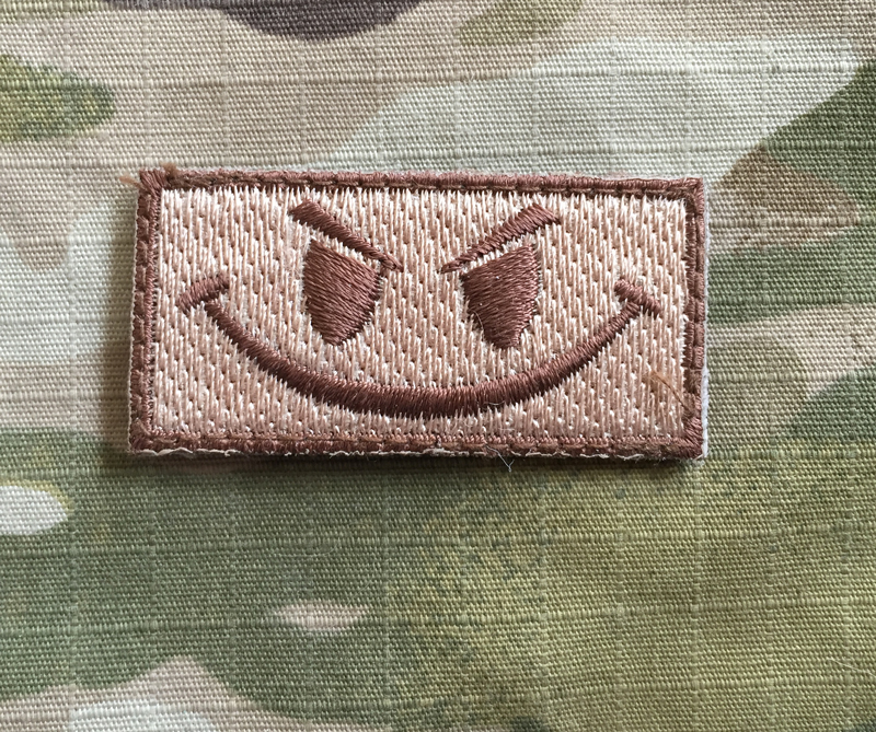 Kandahar Whacker Evil Smile Mini Patch - nášivka