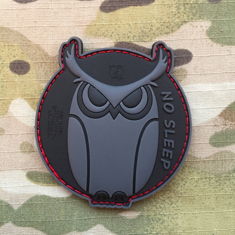 JTG No Sleep PVC Patch - nášivka