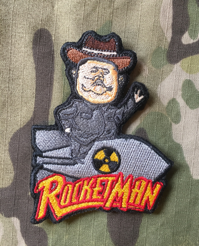 LaPatcheria Rocket Man - Donald Trump Patch