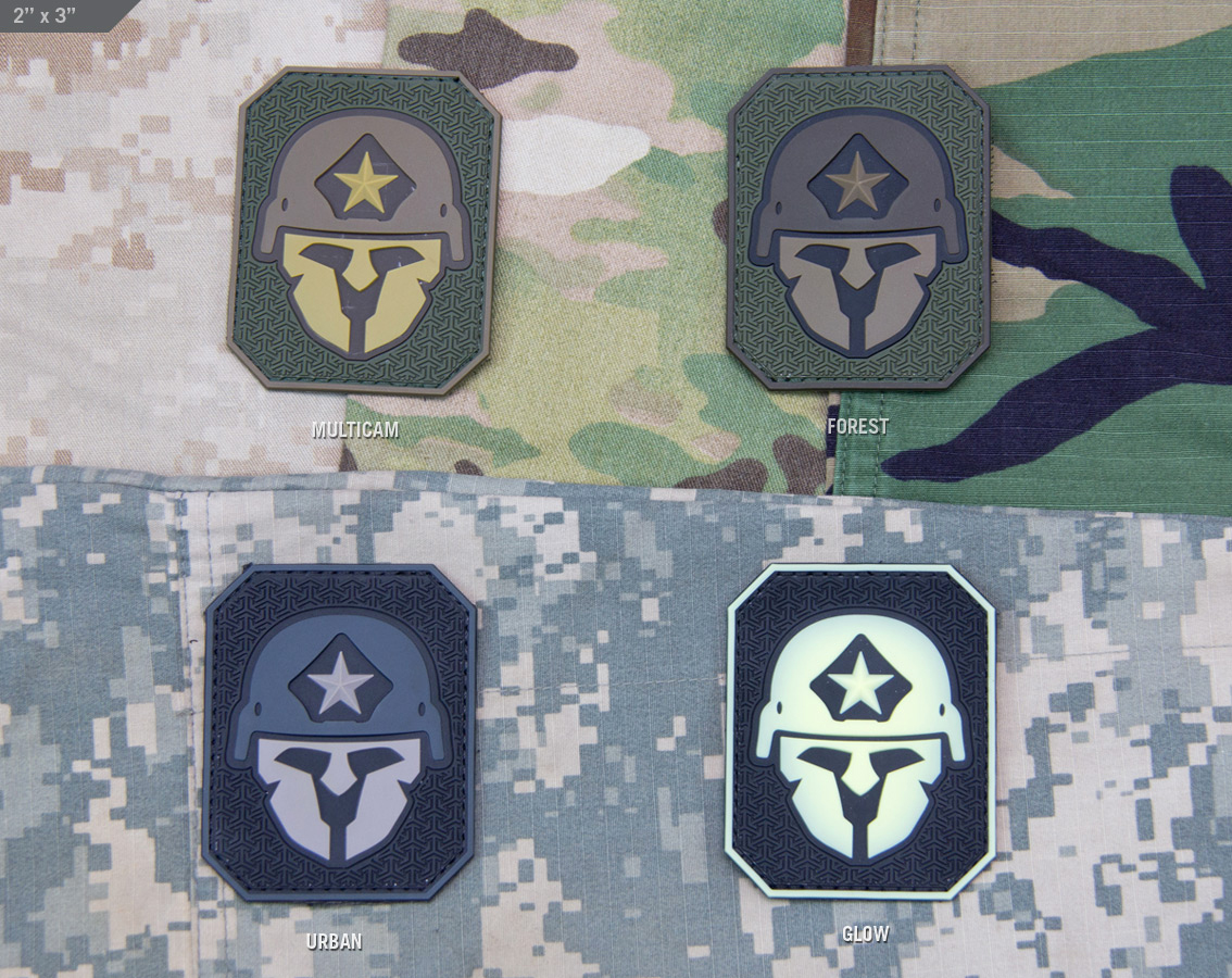 MSM Modern Spartan Large PVC Patch