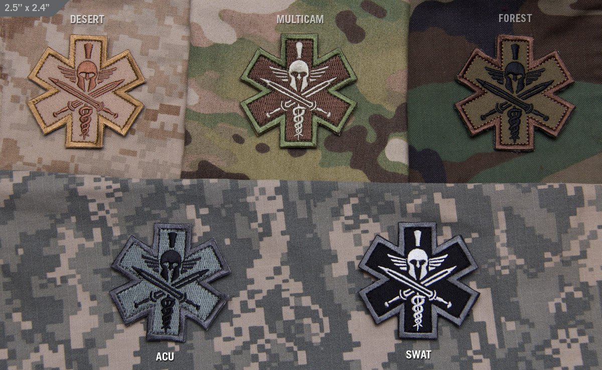 MSM Tactical Medic Spartan Patch