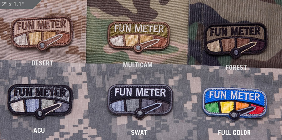 MSM Fun Meter Patch