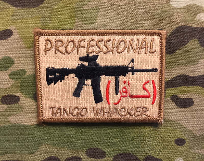 Professional Tango Whacker Patch