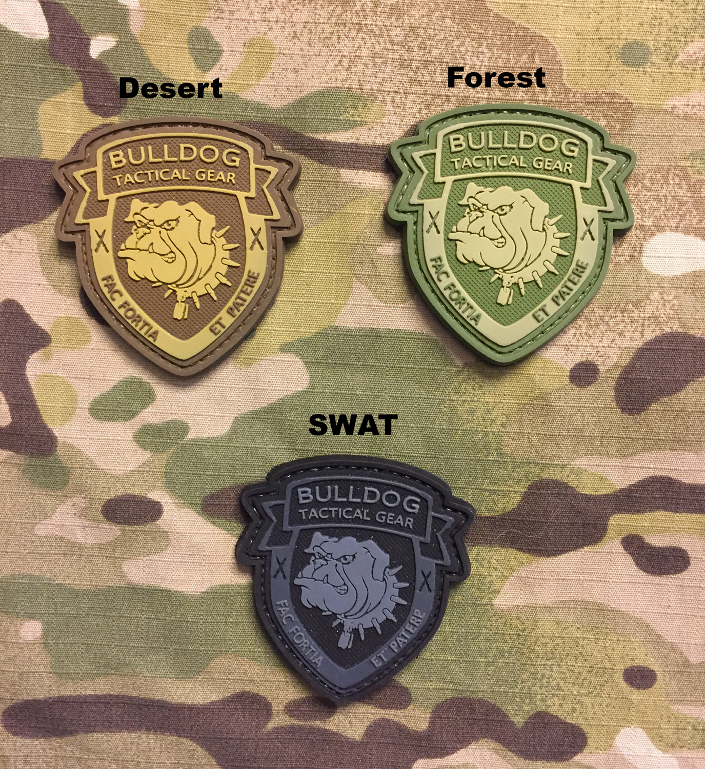 Bulldog PVC Patch