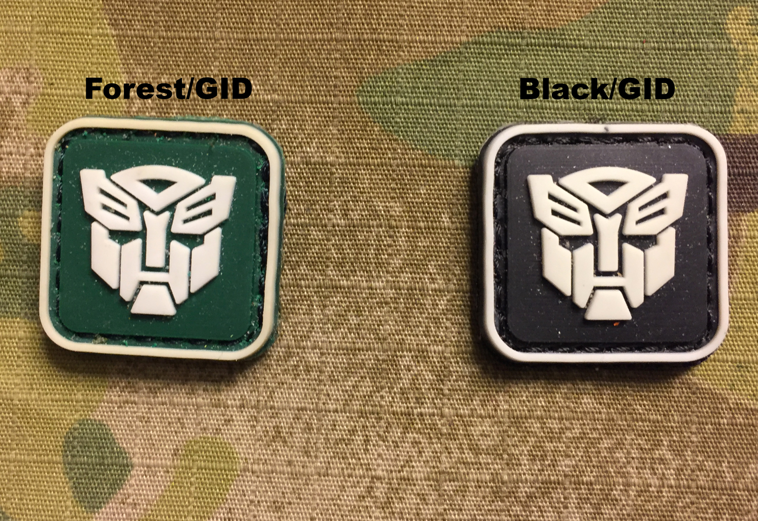 Transformers PVC Mini Patch