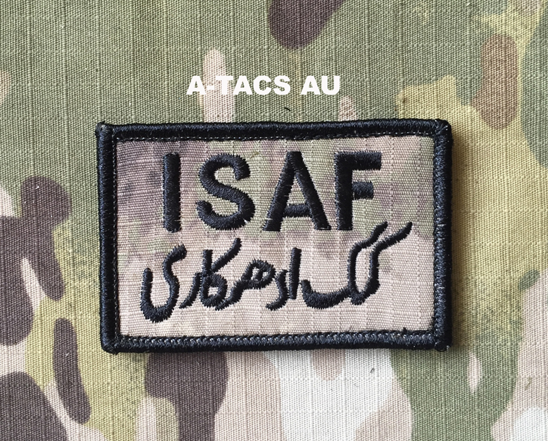 YJPF ISAF Small Patch