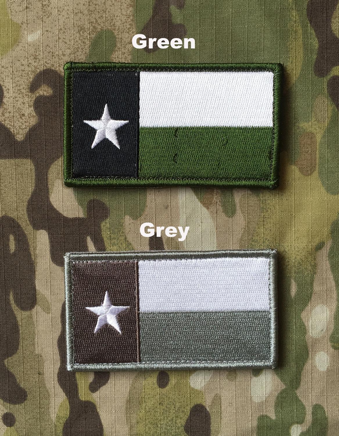 YJPF TEXAS Flag Patch