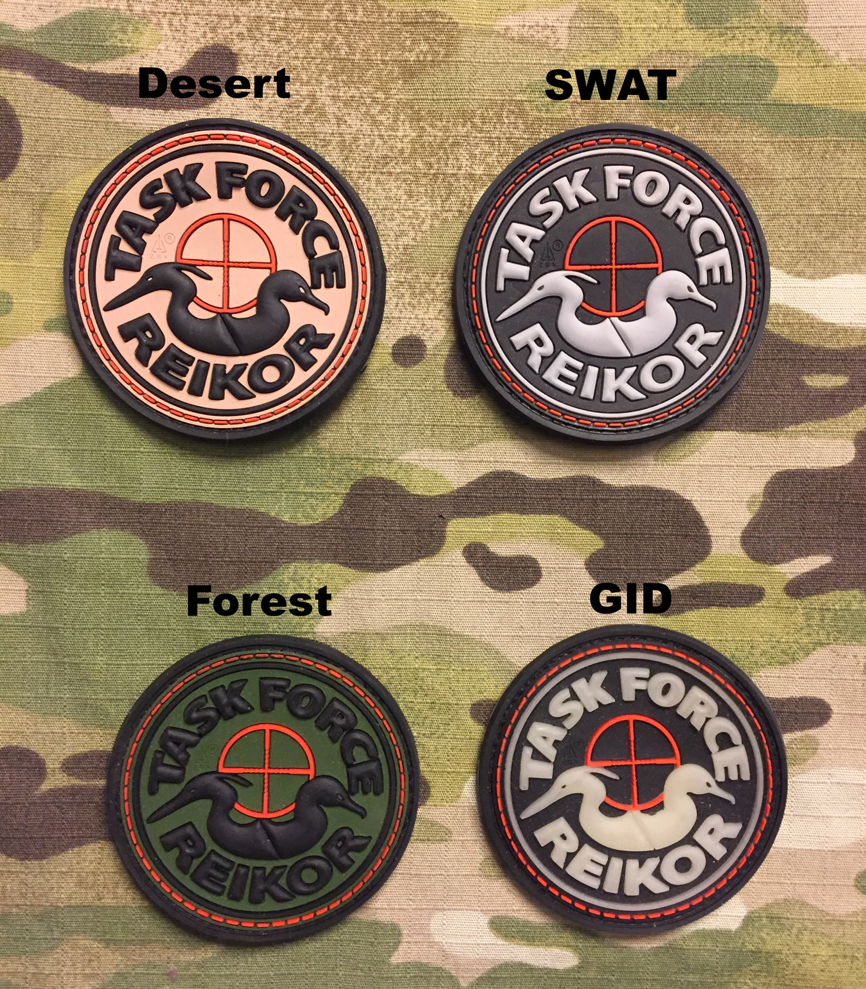 JTG Task Force REIKOR PVC Patch