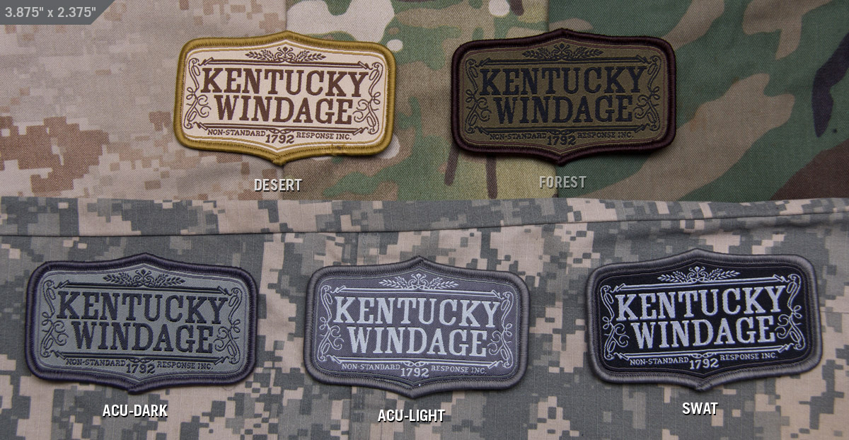 MSM Kentucky Windage Patch