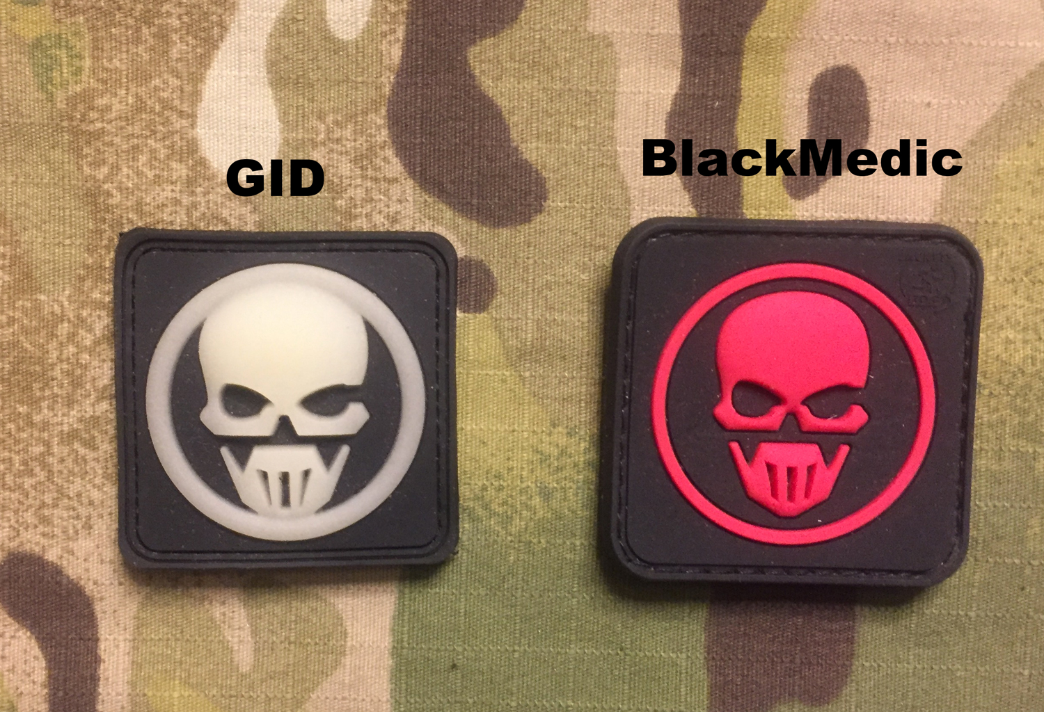 JTG GHOST RECON PVC Patch