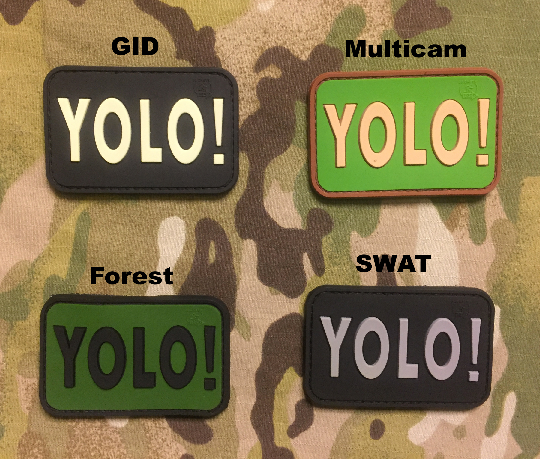 JTG Yolo PVC Patch
