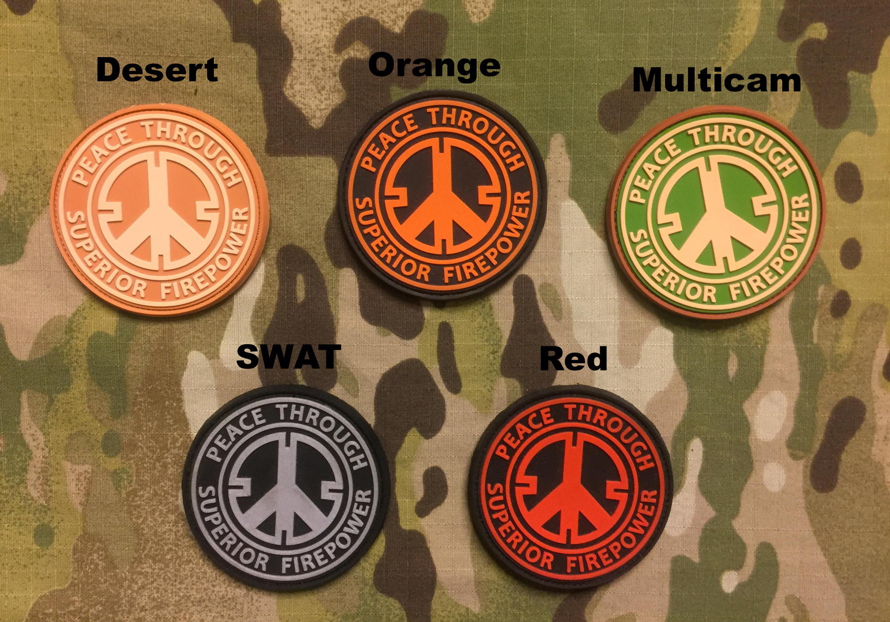 JTG Peace PVC Patch