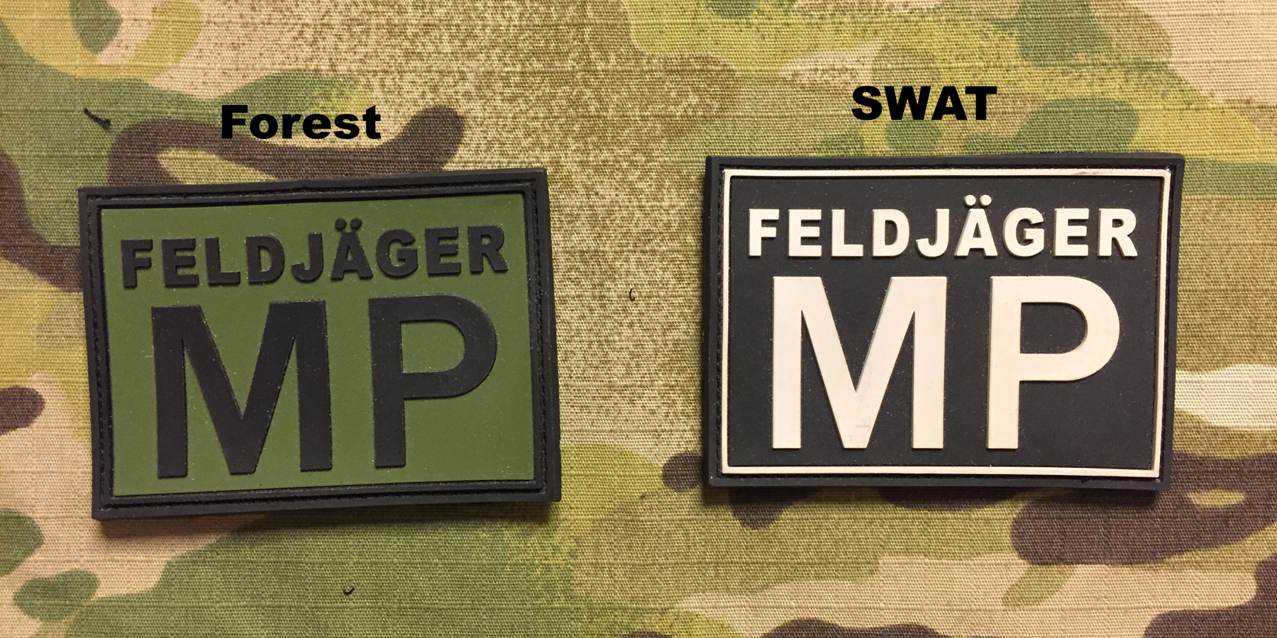 JTG FeldJager MP PVC Patch