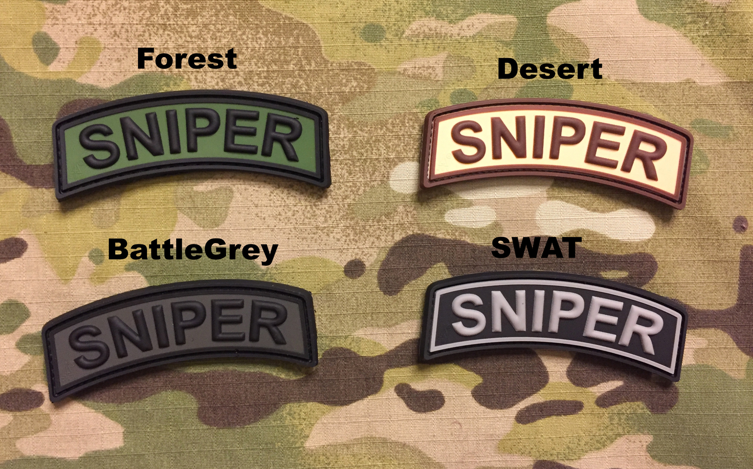 JTG Sniper Tab PVC Patch