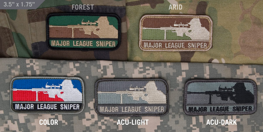 MSM Major League Sniper Patch