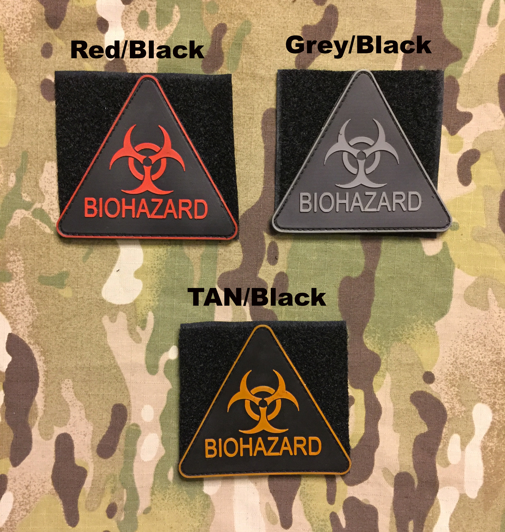 YJPF Biohazard PVC Patch