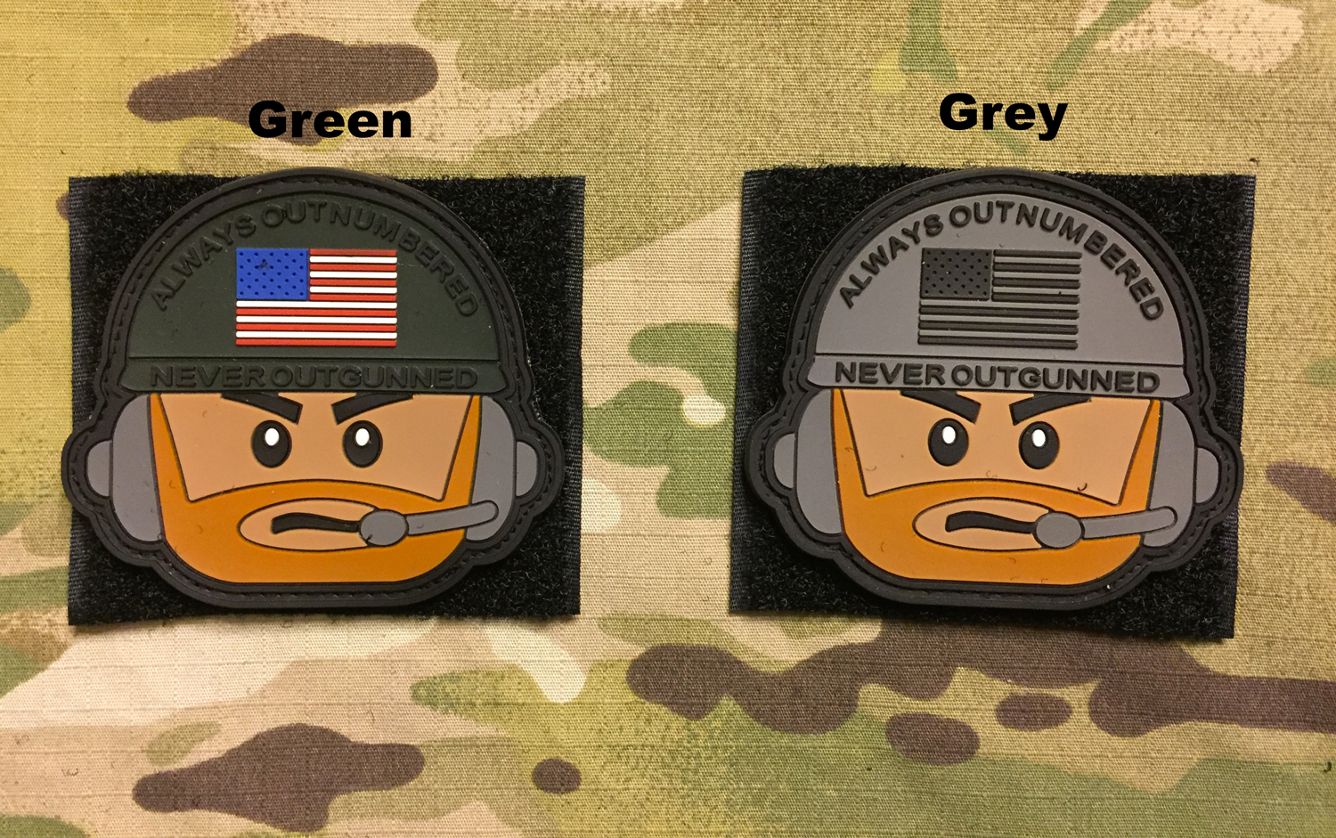 YJPF Tactical Lego Head PVC Patch
