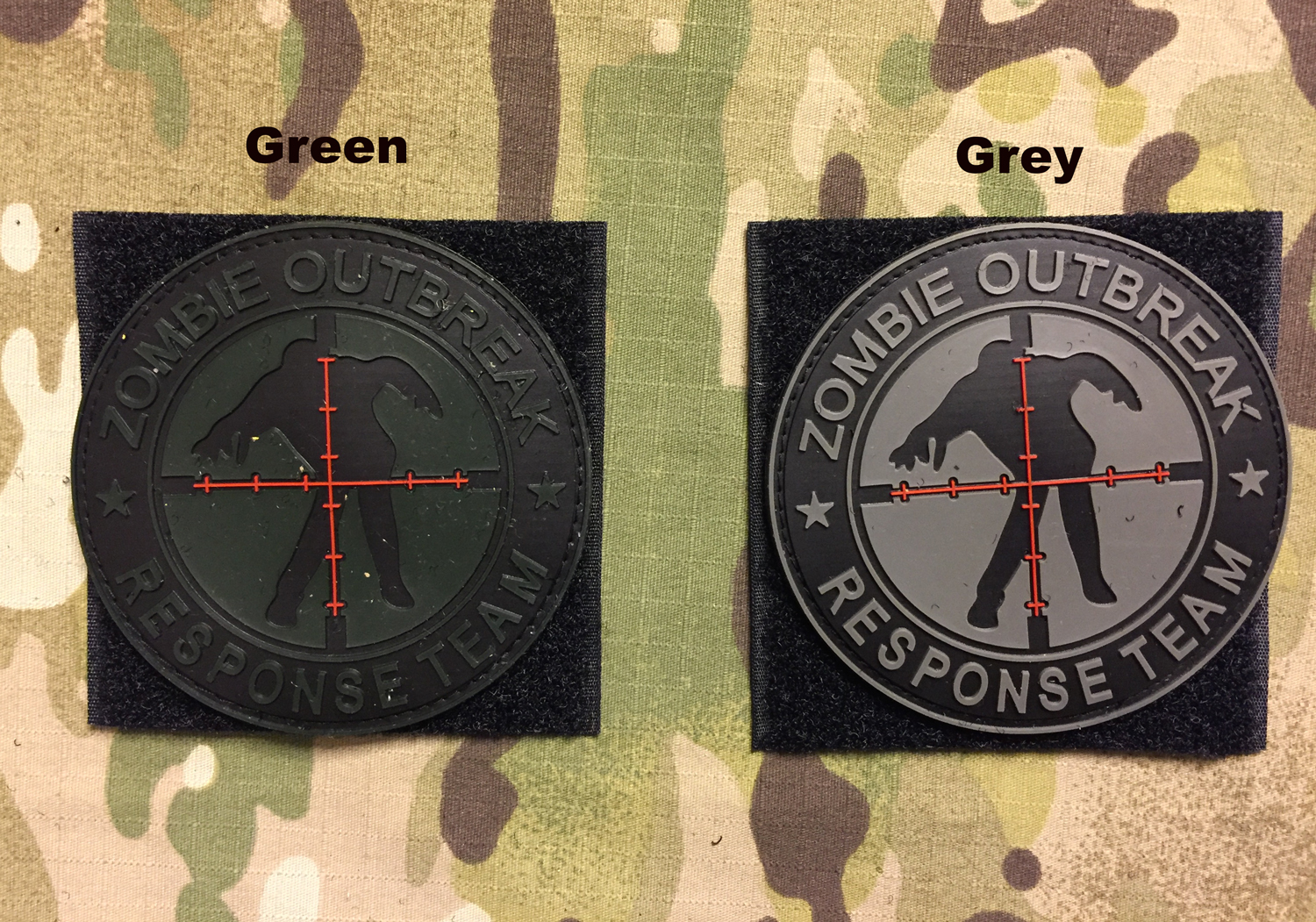 YJPF Zombie Outbreak Response Team PVC Patch