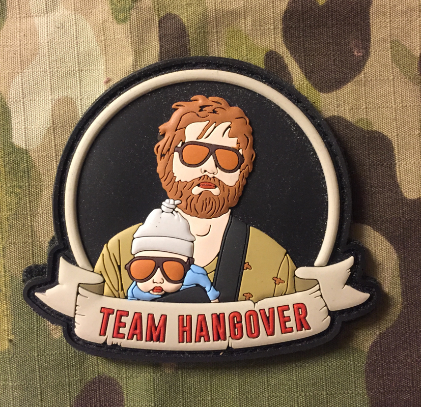 LaPatcheria Team Hangover PVC  Patch