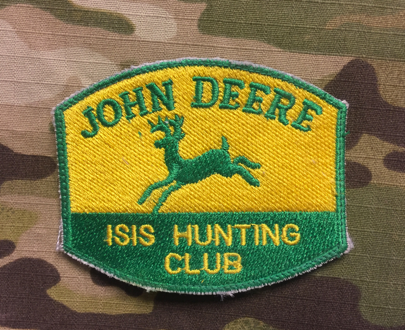 LaPatcheria John Deere ISIS Hunting Club Patch