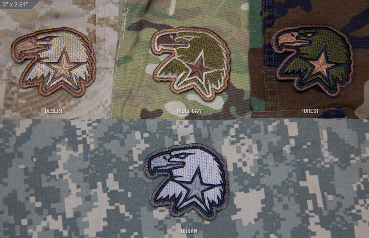 MSM Eagle Star Patch