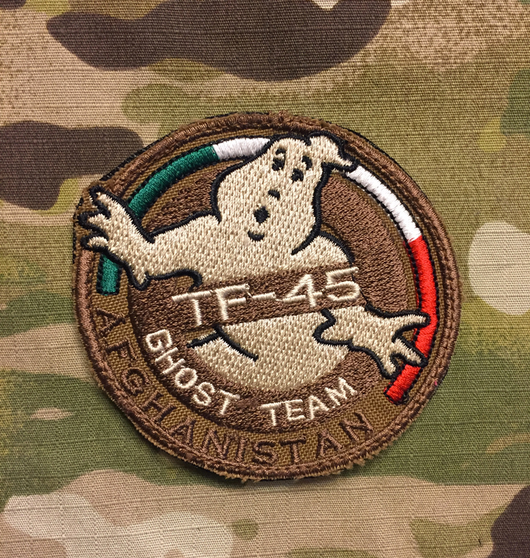 LaPatcheria TF-45 Ghost Team Afghanistan Patch