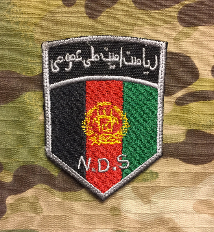 LaPatcheria NSD Afghan Commando Patch