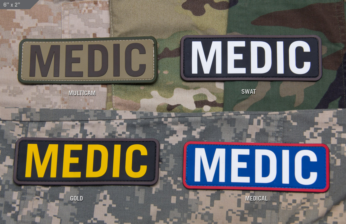 MSM Medic 6x2 PVC Patch