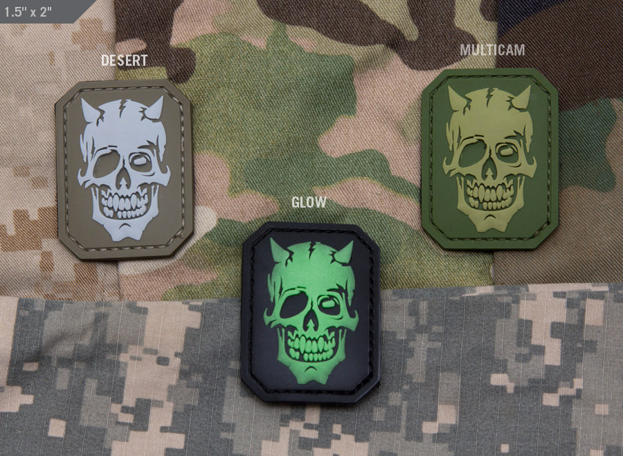 MSM Devil Skull PVC Patch