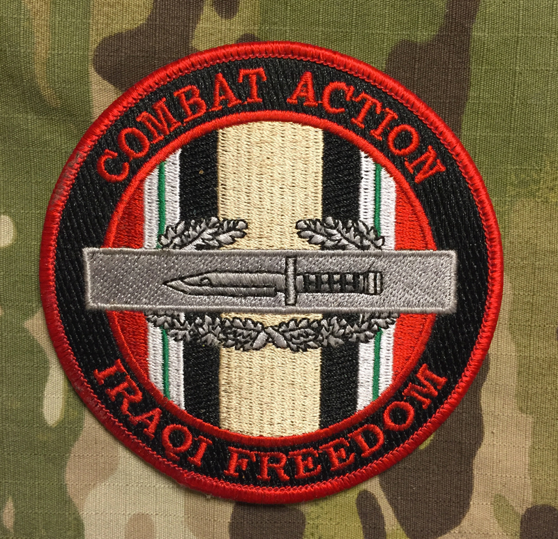 Combat Action Enduring Freedom Patch nášivka