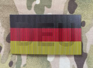 SPAEHER German Flag with DEU Infra Patch - nášivka