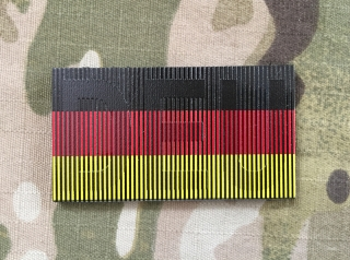 SPAEHER German Flag with DEU Small Infra Patch - nášivka