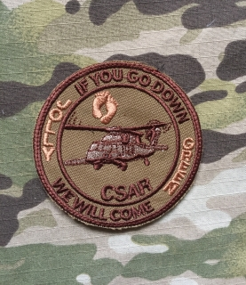 LaPatcheria 33rd Rescue Squadron CSAR Jolly Green Patch