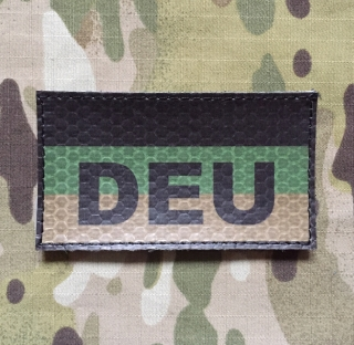 JTG German Flag with DEU Patch Olive