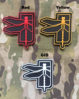 YJPF Haley Strategic Dragonfly Large PVC Patch - nášivka