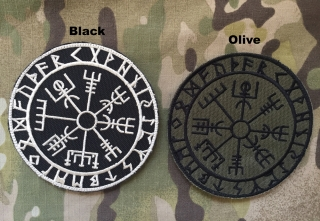 LaPatcheria Vegvisir Viking Compass Patch - nášivka