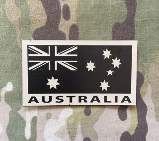 LaPatcheria Australia Flag IR Patch - TAN - nášivka