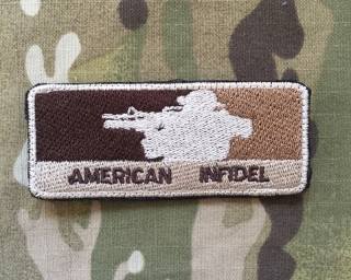 LaPatcheria American Infidel Patch - nášivka