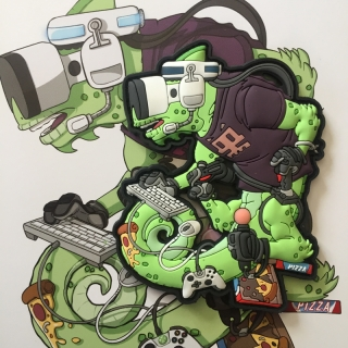 MoralPatches TACTICAL CHAMELEON LEGION COD GAMER OPERATOR PVC Patch