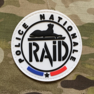Police Nationale RAID PVC Patch - Color - nášivka