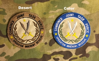 LaPatcheria CJTF Operation Inherent Resolve Patch