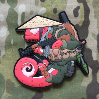 MoralPatches TACTICAL CHAMELEON LEGION VIET CONG SOLDIER PVC Patch - nášivka