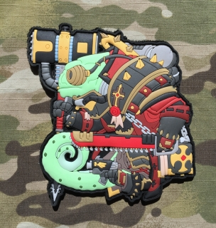 MoralPatches TACTICAL CHAMELEON LEGION INQUISITOR PVC Patch - nášivka