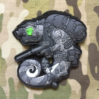 MoralPatches TACTICAL CHAMELEON LEGION NIGHTSTALKER OPERATOR V3 PVC Patch