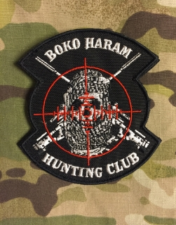 LaPatcheria Boko Haram Hunting Club Patch